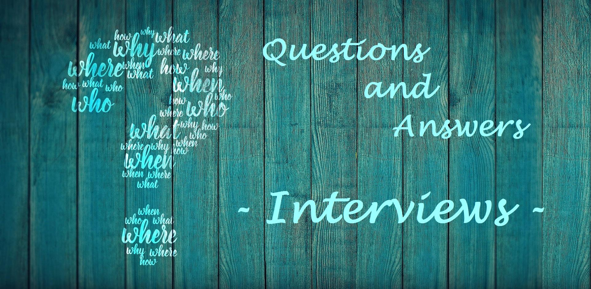 Interview: Ich habe mich selbst ein paar Fragen gestellt …