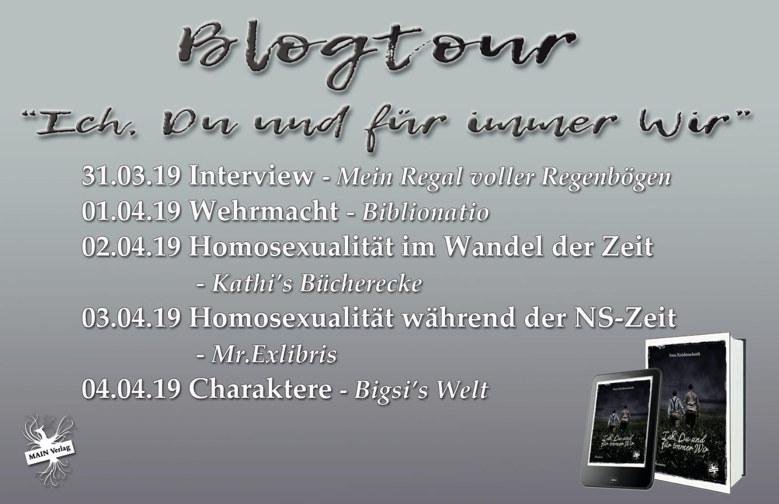 """Blogtour """"Ich, Du und für immer Wir"""" – Autoreninterview mit Sven Krüdenscheidt"""