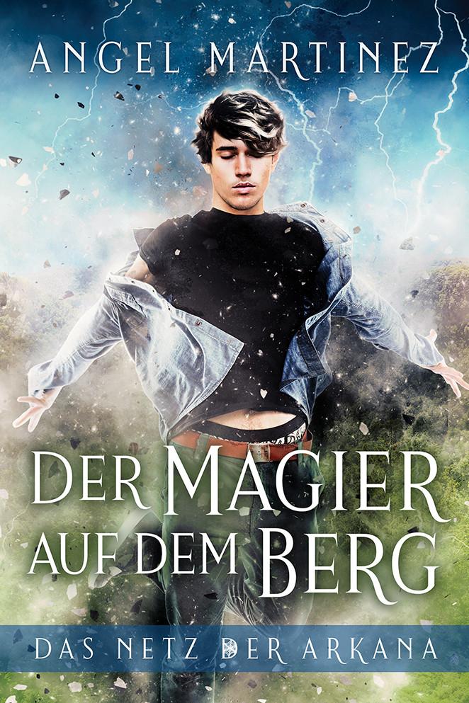 """""""Der Magier auf dem Berg"""" von Angel Martinez"""
