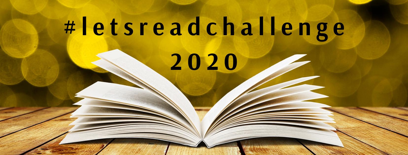 #letsreadchallenge 2020