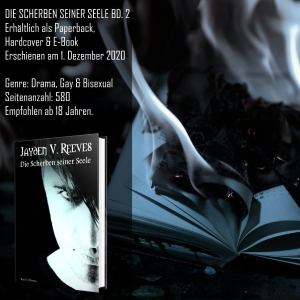 """#Specialdays – Leseprobe """"Die Scherben seiner Seele"""" von Jayden V. Reeves"""