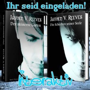 """Ankündigung #Specialdays """"Der steinerne Garten"""" & """"Die Scherben seiner Seele"""" von Jayden V. Reeves"""